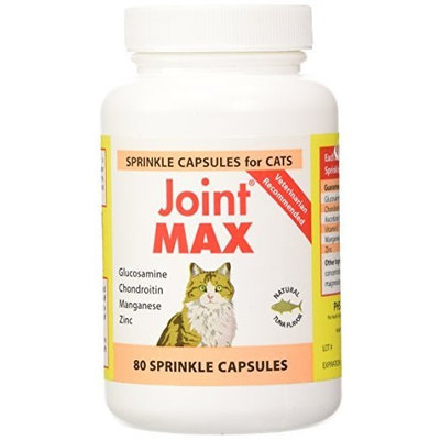 Pet Health Solutions Joint MAX SPRINKLE CAPS for Cats (80 Caps)