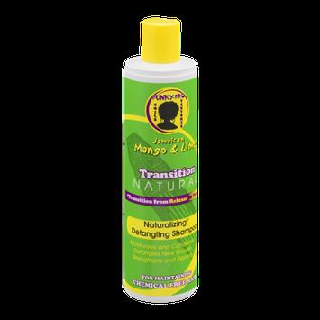 Transition Natural Funky-Fro Jamaican Mango & Lime Naturalizing Detangling Shampoo