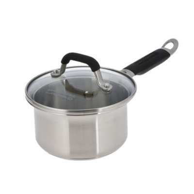 Calphalon Kitchen Essentials Stainless Steel 1-qt. Covered Sauce Pan