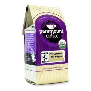 Paramount Coffee, Fair Trade Organic Nicaragua, Ground Coffee, 10-Ounce Bags (Pack of 3)