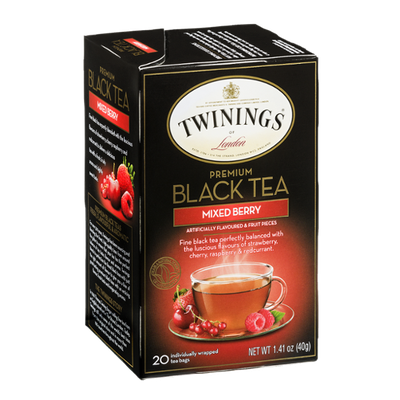 Twinings® Premium Black Tea Mixed Berry