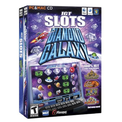 Masque IGT Slots 2 Pack: Little Green Men & Diamond Galaxy (PC Game)