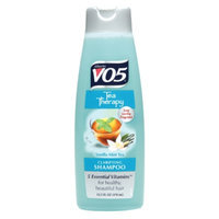 Alberto VO5 Tea Therapy Clarifying Shampoo, Vanilla Mint Tea, 12.5 fl oz