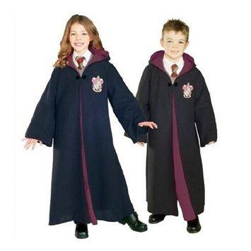 BuySeasons Costumes Costumes Harry Potter Gryffindor Robe Deluxe Kids Halloween Costume