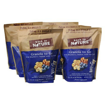 Back to Nature Granola to Go 6 Pack