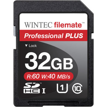 FileMate Wintec Filemate Professional Plus 32GB SDHC UHS-1 Memory Card Class 10