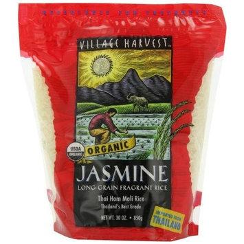 Village Harvest Organic Thai Jasmine Rice, 30-Ounce Bags (Pack of 6)