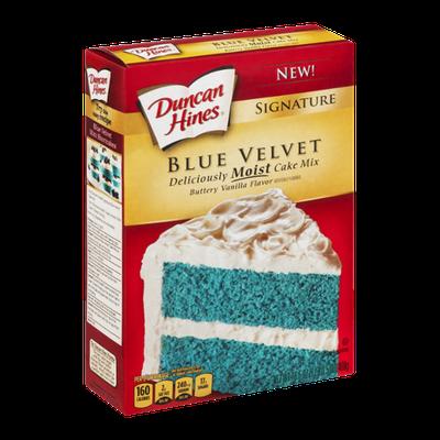 Duncan Hines Cake Mix Signature Blue Velvet