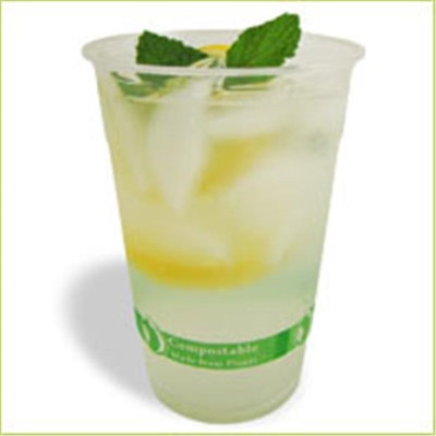 Asean Corporation PLA-24 24oz PLA Clear Cup - 1000 pcs
