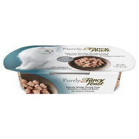 Purely Fancy Feast Natural Tender Tongol Tuna Entree Cat Food 2 oz. Tray