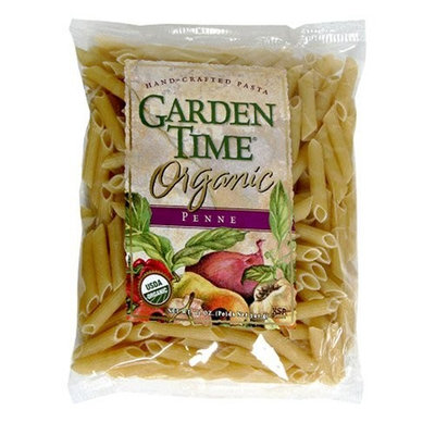 Garden Time Organic Semolina Penne, 12-Ounce Units (Pack of 12)
