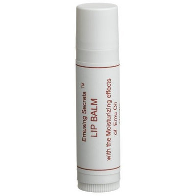 Emusing Secrets Vanilla Lip Balm, 0.15-Ounce Tubes (Pack of 6)