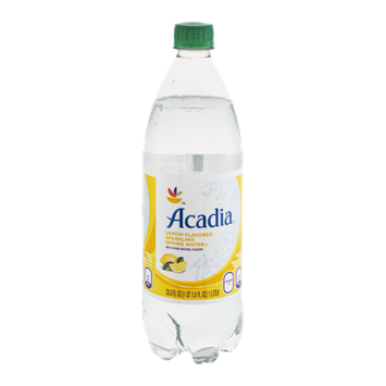 Acadia Sparkling Spring Water Lemon