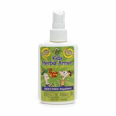 All Terrain Phineas & Ferb Kids Deet Free Herbal Armor Insect Repellent Spray