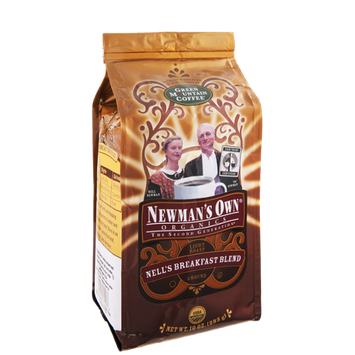 Newman's Own Organics Nell's Breakfast Blend Ground Coffee