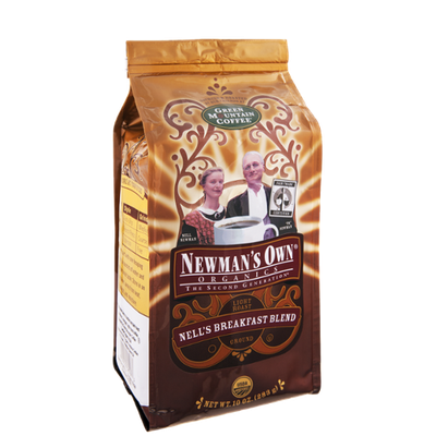 Green Mountain Coffee Newman's Own Organics Nell's Breakfast Blend Ground Coffee