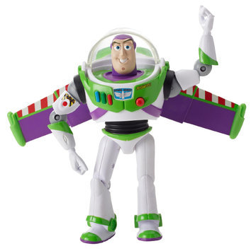 Toy Story Deluxe Feature Figure - Space Ranger Buzz