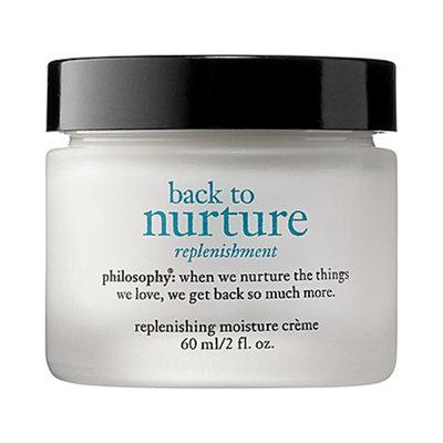 philosophy back to nurture replenishing moisture creme, 2 fl oz
