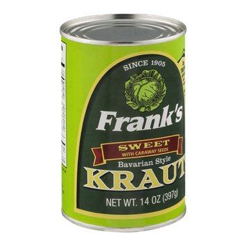 Frank's Bavarian Style Kraut with Caraway Seeds Sweet
