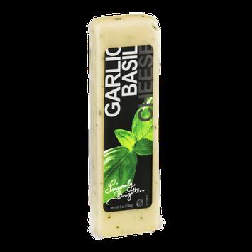 Sincerely, Brigitte Garlic Basil Cheese
