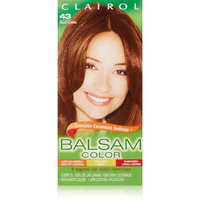 Clairol Balsam Hair Color 43 Medium Golden Brown 1 Kit (Pack of 3)
