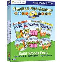 ESI Preschool Prep Series: Sight Words Pack (Meet the Sight Words 1-3)