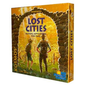 Lost Cities Daring Adventure for Two Game, Ages 10+, 1 ea