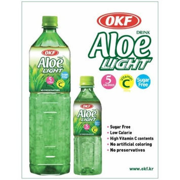 OKF AVS301 Sugar Free Aloe Vera Drinks 500 ml. - Case of 20