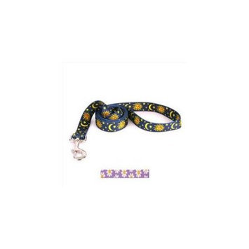 Yellow Dog Design LAVD105LD 3/4 in. x 60 in. Lavender Daisy Lead