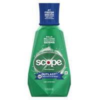Scope Long Lasting Mint Mouthwash - 33.8 oz