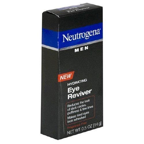 Neutrogena Men Hydrating Eye Reviver, Fragrance Free, 0.5 Ounce (Pack of 3)