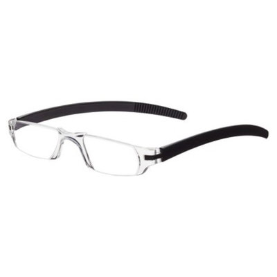 ICU Eyewear ICU Black Travel Reading Glasses - +1.25