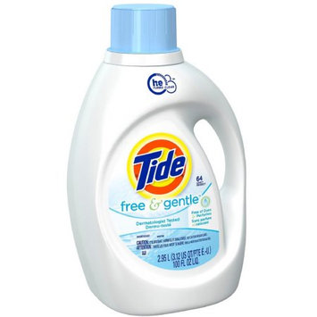 Tide Free and Gentle High Efficiency Liquid Laundry Detergent