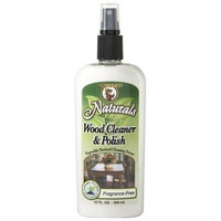 Howard Products Howard Naturals WC0012 Wood Cleaner and Polish, 12-Ounces, Fragrance-Free