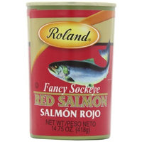 Roland Fancy Sockeye Red Salmon, 14.75-Ounce Cans (Pack of 3)