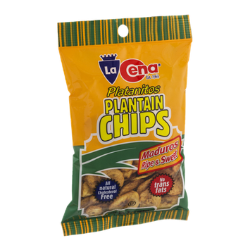 La Cena Plantain Chips Ripe & Sweet