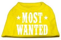 Ahi Most Wanted Screen Print Shirt Yellow XXL (18)
