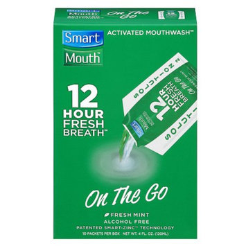 SmartMouth 12 Hour On-the-Go Activated Mouthwash Packets
