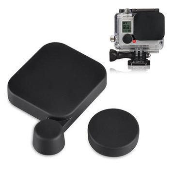 Insten INSTEN New Black Protective Rear Replacement Lens Cap + Housing Case Cover for GoPro Hero 3 Camera Cap