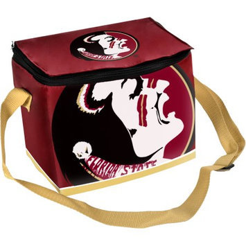 Forever Collectibles Florida State Seminoles (FSU) Zippered Insulated Lunch Bag - Garnet