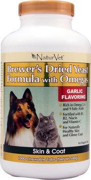 turvet Brewers Yeast & Garlic w/Linoleic 1000 ct