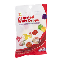 Ahold Assorted Fruit Drops Hard Candy