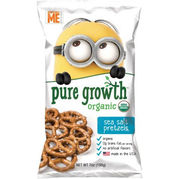 Pure Growth Organic Foods Pure Growth Organic Sea Salt Pretzels, 7 oz