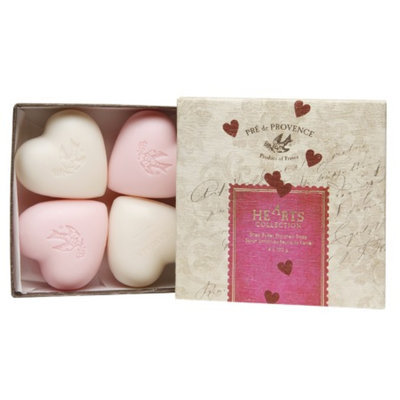 Pre de Provence Hearts Collection Gift Box (Four 100g Soaps)