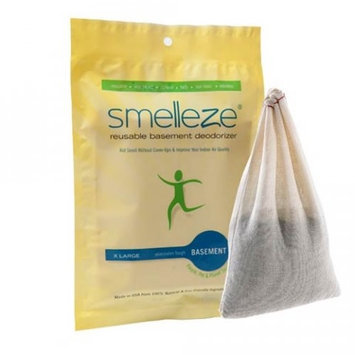 Smelleze Reusable Basement Deodorizer Pouch: X Large