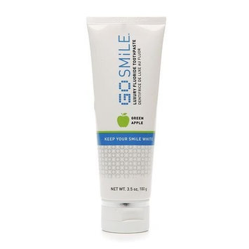 GoSMILE Green Apple Luxury Toothpaste