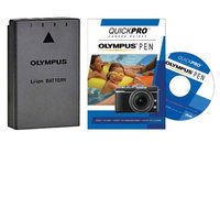 Olympus BLS-1 Li-ion Rechargeable Battery with Olympus PEN Instructional DVD for Micro 4/3 E-P1, E-P2, E-P3, E-PL1, E-PL2, E-PL3, E-PM1 Digital Camera