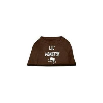 Ahi Lil Monster Screen Print Shirts Brown XXXL (20)