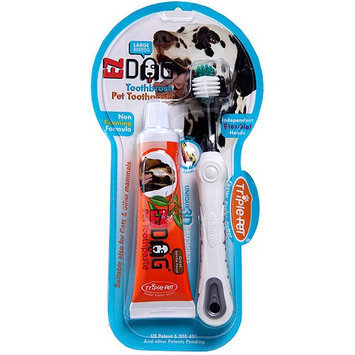 Triple-Pet EZ Dog Large Breed Pet Dental Kit