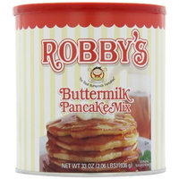 Robby's Buttermilk Pancake Mix, 33-Ounce Cans (Pack of 3)